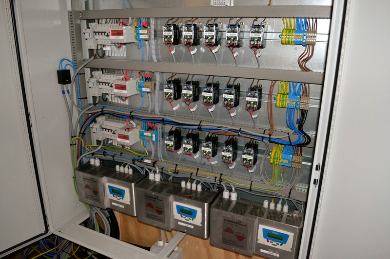 Inside 50kW EMMA Master Panel