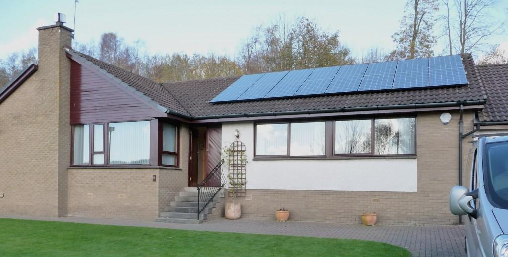 Mr Bryden's Solar PV System