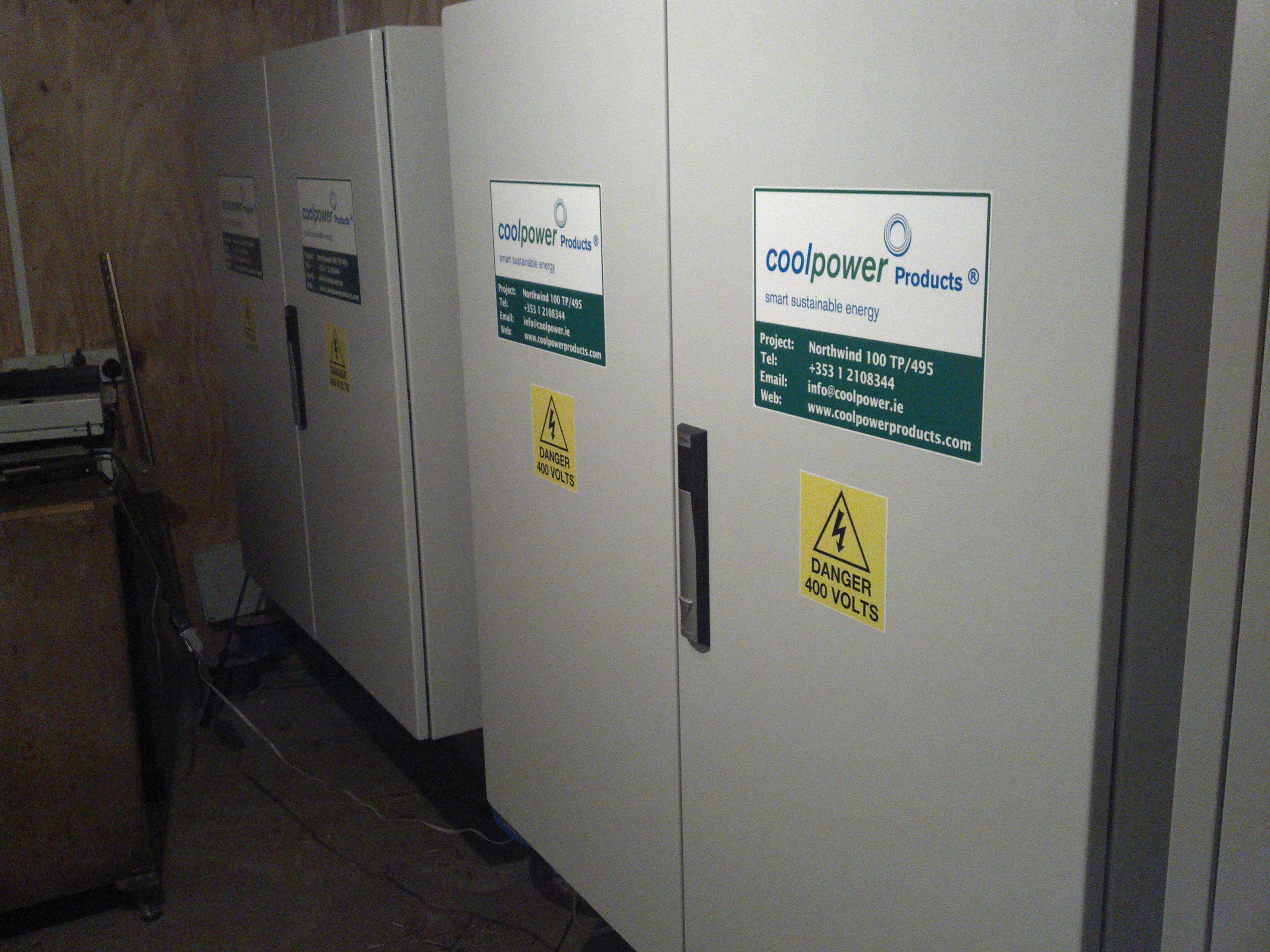 limit generator export - 100kW EMMA