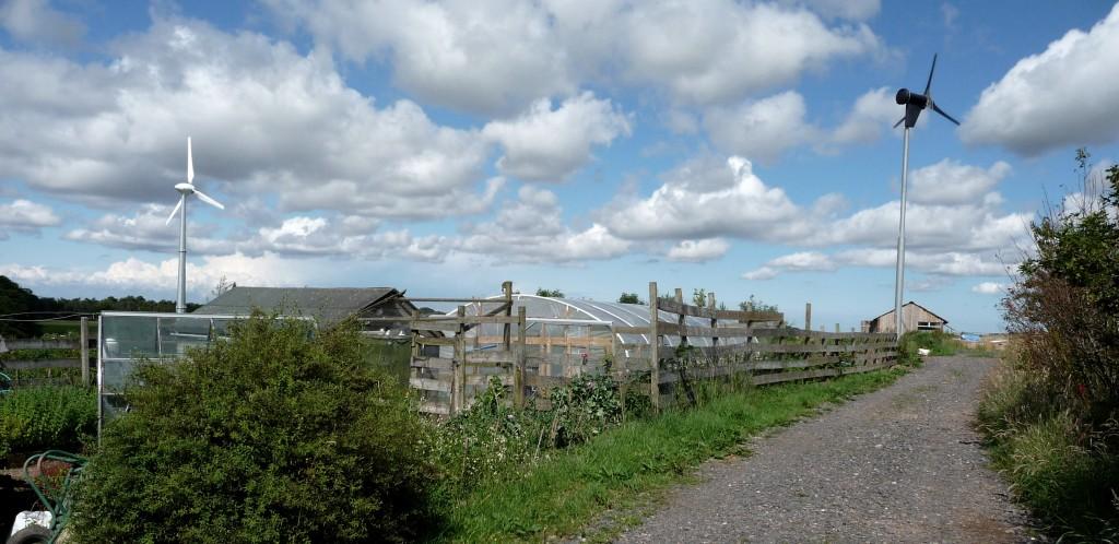 Smallholding Eco Site - Solar & Wind Applications Ltd