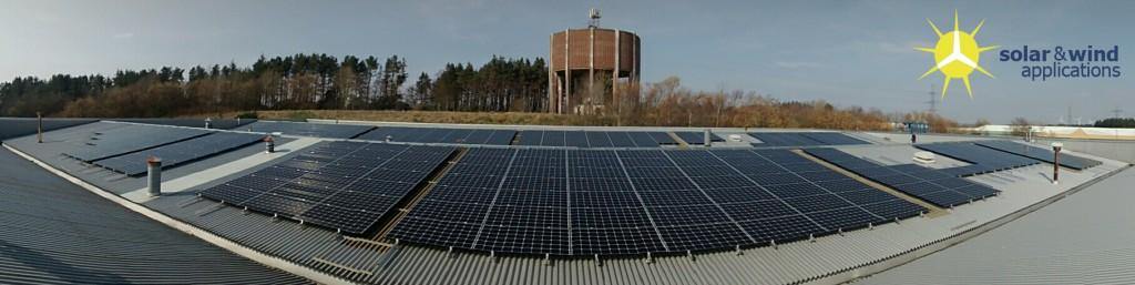 Large solar pv - Panorama