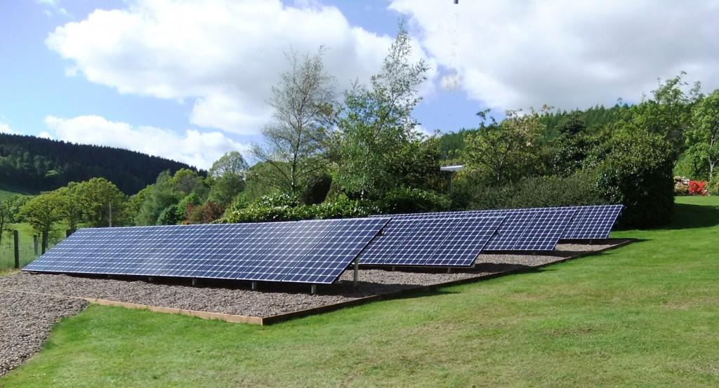 Ground Mount Domestic Solar PV