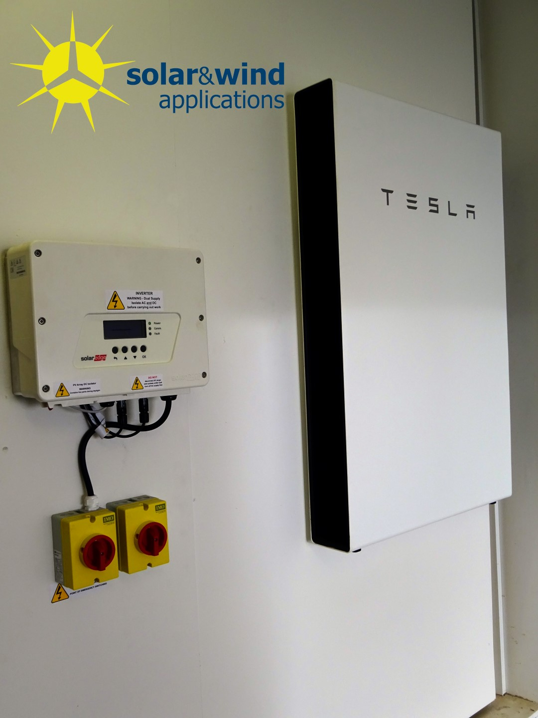 Tesla Wall Battery >> Battery Storage Tesla Powerwall Solar Wind Applications
