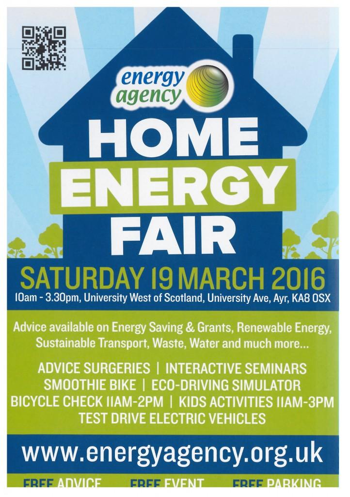 Energy Agency Fair - 19/03/2016